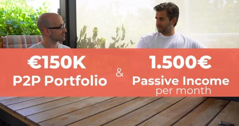 150.000€ P2P Lending Portfolio: 1.500€ Monthly Passive Income
