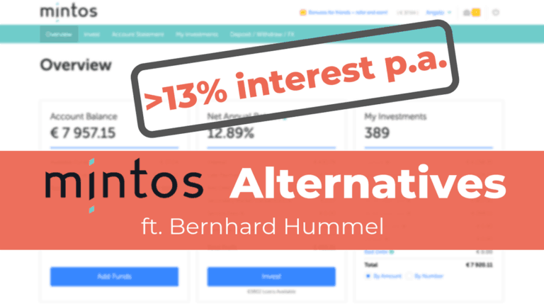 Mintos Alternatives with Higher Interest Rates ft. Bernhard Hummel