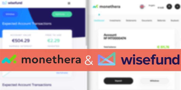 Monethera and Wisefund – My Early Impressions and Experience so far