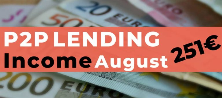 P2P Lending Income August 2019 – I made a mistake…