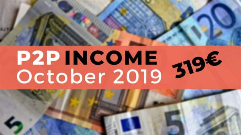 P2P Lending Income October 2019