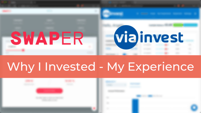 Swaper and Viainvest – My Experience & Why I added them to my P2P Portfolio