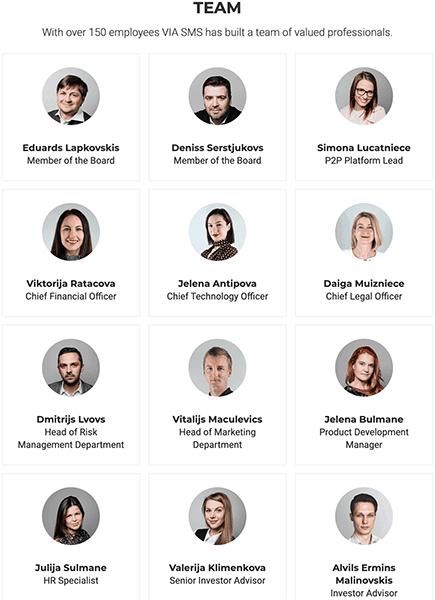 Viainvest team