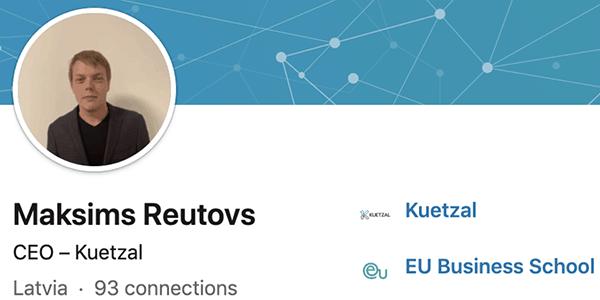 new Kuetzal CEO
