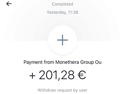 monethera payment