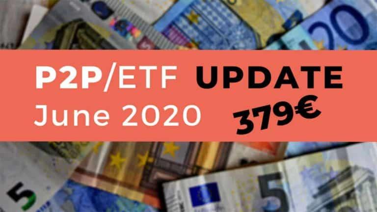 P2P & Dividend Income June 2020