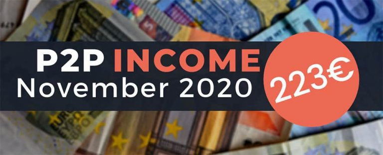 P2P Lending Income November 2020