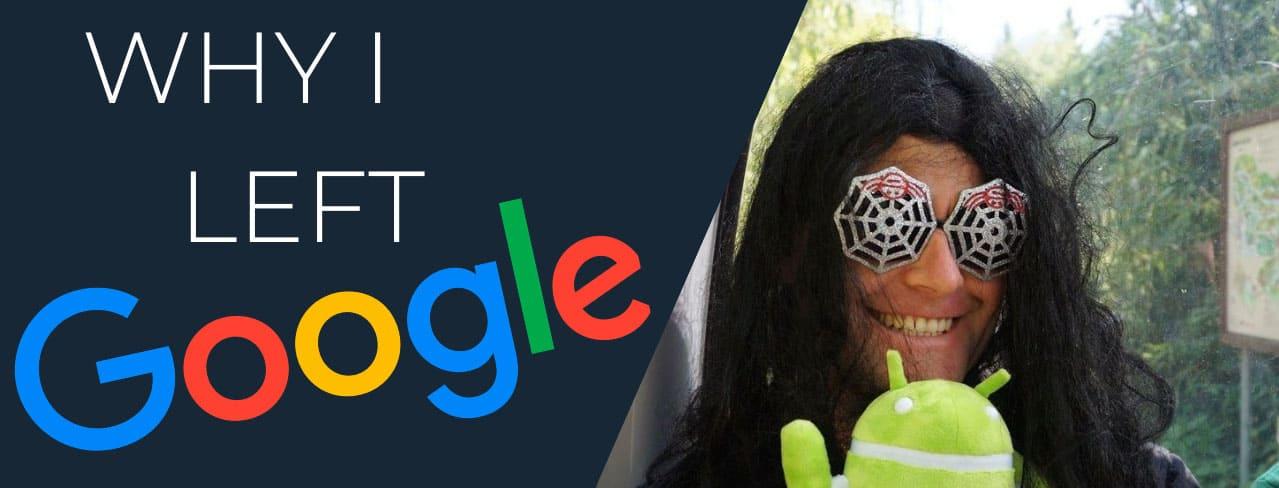 why I quit my job at Google millionaire